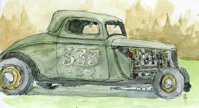 Painting - Sketchbook 009 by David King
