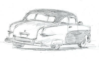Drawing - Sketchbook 023 by David King