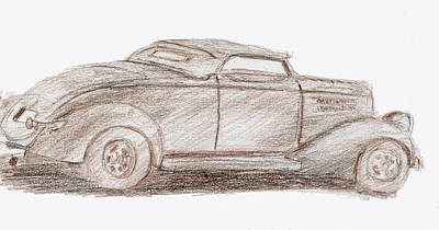 Drawing - Sketchbook 025 by David King