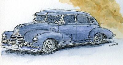 Painting - Sketchbook 029 by David King