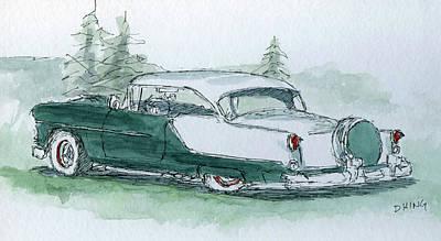 Painting - Sketchbook 030 by David King