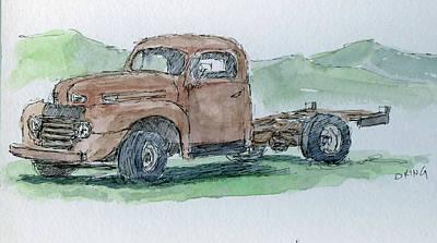 Painting - Sketchbook 031 by David King