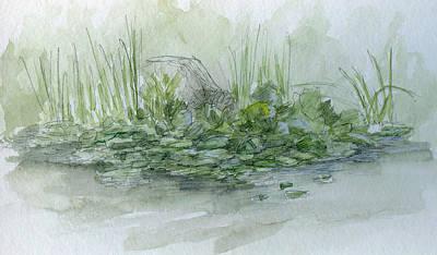 Painting - Sketchbook 032 by David King