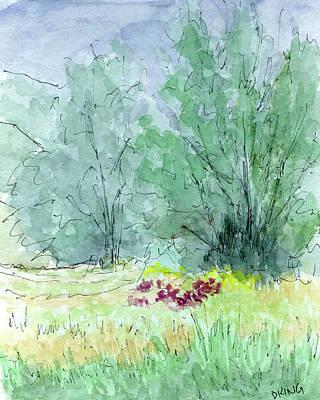 Painting - Sketchbook 034 by David King