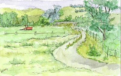 Painting - Sketchbook 037 by David King