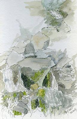 Painting - Sketchbook 041 by David King