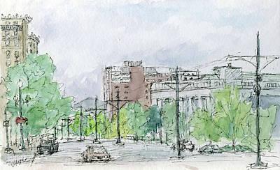 Painting - Sketchbook 044 by David King