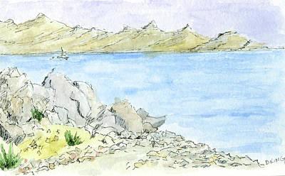 Painting - Sketchbook 048 by David King