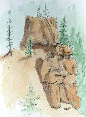 Painting - Sketchbook 053 by David King