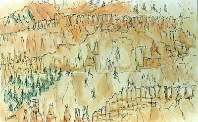Painting - Sketchbook 054 by David King