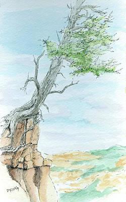 Painting - Sketchbook 055 by David King