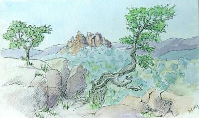 Painting - Sketchbook 056 by David King