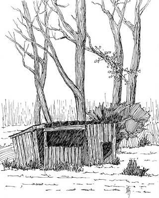 Drawing - Sketchbook 063 by David King