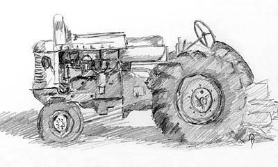Drawing - Sketchbook 064 by David King