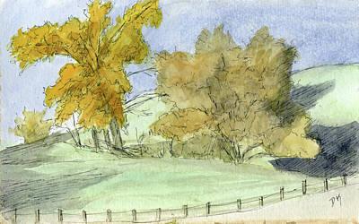 Painting - Sketchbook 068 by David King
