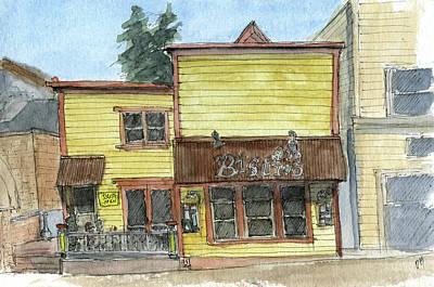 Painting - Sketchbook 076 by David King