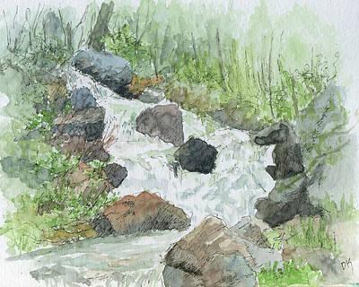 Painting - Sketchbook 088 by David King