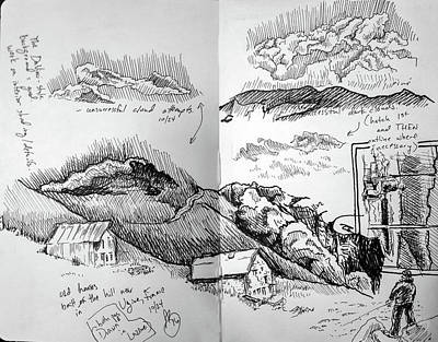 Drawing - Sketchbook Page 10242 by Anthony Brooks