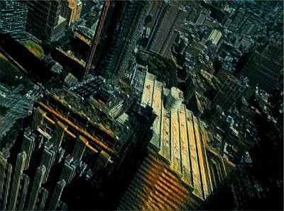 City Scenes Digital Art - Skewed View by Gina Callaghan