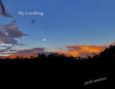 Skg Is Nothing Art Print by Jack Eadon