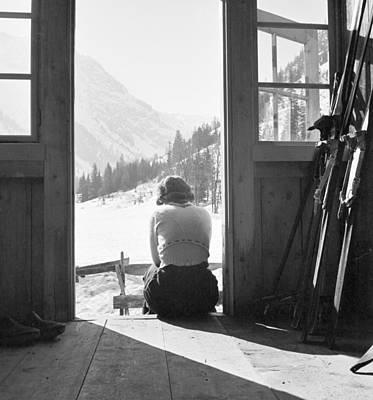 Ski Resort Photograph - Ski Chalet by German School