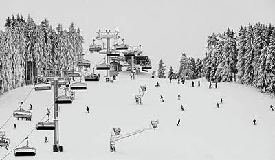 Photograph - Ski Holiday by Erich Westendarp