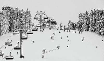 Photograph - Ski Holiday by Erich Westendarp