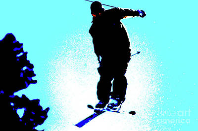Photograph - Ski Jumper by Micah May