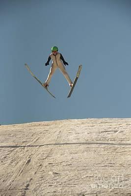 Photograph - Ski Jumping At Norge by David Bearden