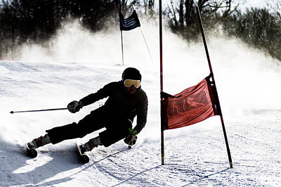 Photograph - Ski Racer 2 by Tim Kirchoff