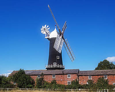 Photograph - Skidby Mill East Yorkshire England by Anthony Murphy