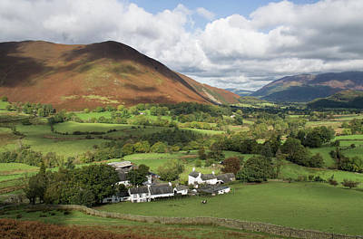 Photograph - Rowling End From The Newlands Valley by Pete Hemington