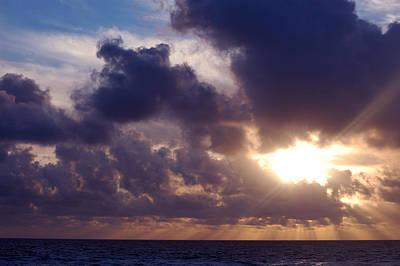 Photograph - Skies Of Cancun 1 by Barbara J Blaisdell