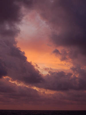 Photograph - Skies Of Cancun 3 by Barbara J Blaisdell