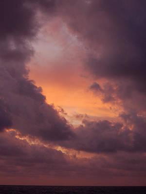 Photograph - Skies Of Cancun 3 by Barbara J Blaisdell