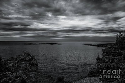 Photograph - Skies Over Presque Isle 2 by Rachel Cohen