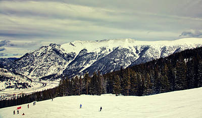 Photograph - Skiing In Vail Colorado by L O C