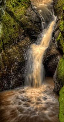 Photograph - Skillet Creek Into The Deep Pool by Dale Kauzlaric