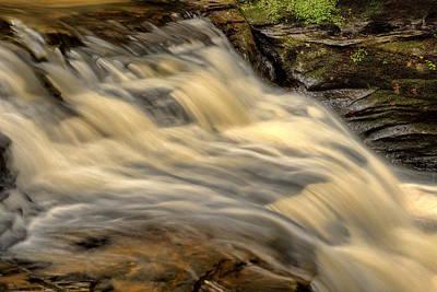 Photograph - Skillet Creek Upper Falls by Dale Kauzlaric