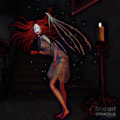 Digital Art - Skin And Bone 2 by Georgina Hannay
