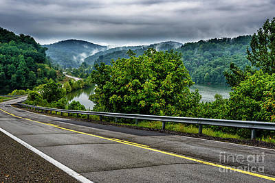 Photograph - Skin Creek Road Cloudy Day by Thomas R Fletcher