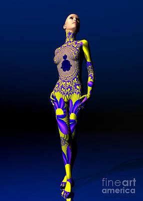 Digital Art - Skin Deep by Sandra Bauser Digital Art