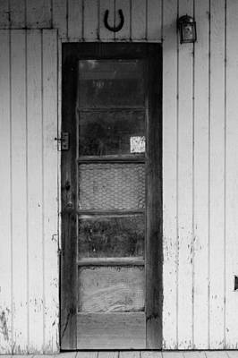 Photograph - Skinny Door by Erin Kohlenberg