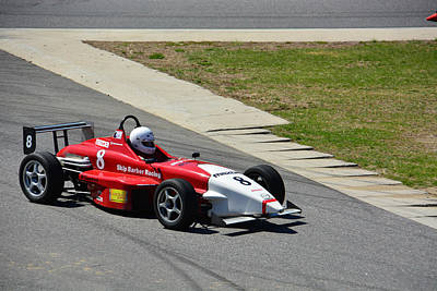 Photograph - Skip Barber Racing School 8 by Mike Martin