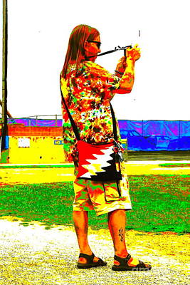 Photograph - Skippy The Hippie by Jesse Ciazza