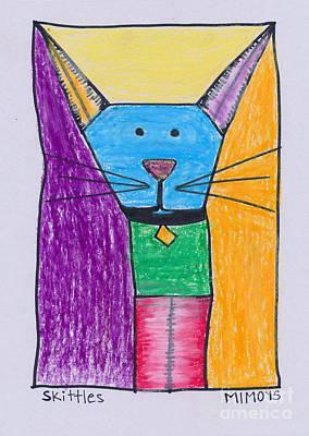 Skittles Art Print by Michael Mooney