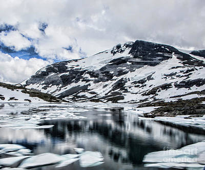 Photograph - Skjolden Glacial Beauty by Shirley Mangini