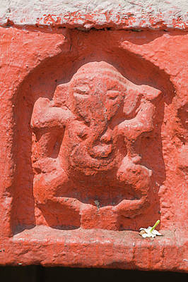 Photograph - Skn 1952 Lord Ganesh by Sunil Kapadia