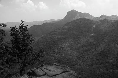 Photograph - Skn 4422 The Afternoon Landsape by Sunil Kapadia