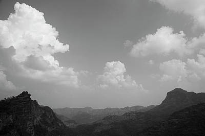 Photograph - Skn 4431 The Cloudy Afternoon Landscape by Sunil Kapadia